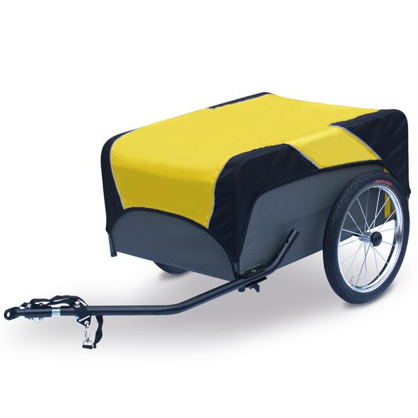 ROLAND fiets-aanhanger Traveller 16 spaakwielen met kogellager, luchtbanden,