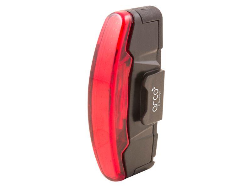 Achterlicht Spanninga Arco USB oplaadbaar