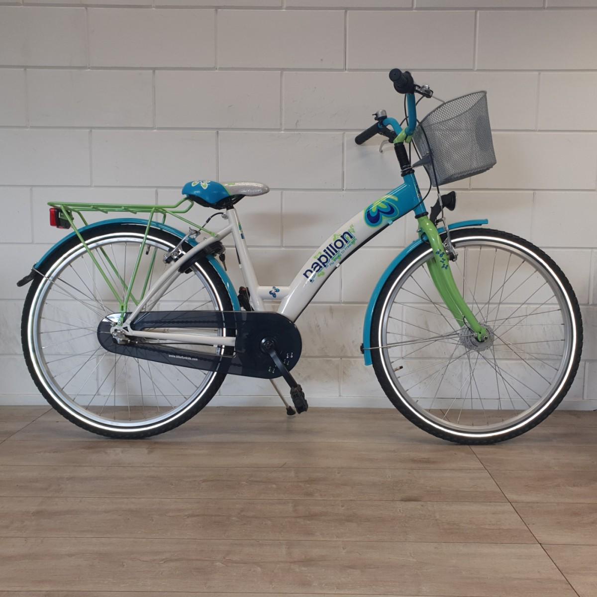 Bike Fun papillon, blauw wit